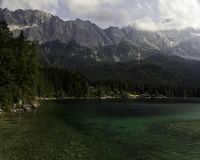 Bavaria. Hiking through the Bavarian Alps of Southern Germany stock photography