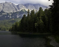 Bavaria. Hiking through the Bavarian Alps of Southern Germany Stock Image