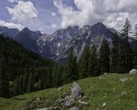Bavaria. Hiking through the Bavarian Alps of Southern Germany Royalty Free Stock Photo
