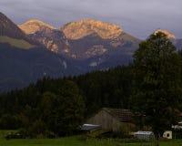 Bavaria. Hiking through the Bavarian Alps of Southern Germany Royalty Free Stock Photos