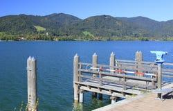 bavaria jeziora tegernsee Fotografia Royalty Free