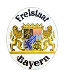 Bavaria livre do estado imagem de stock