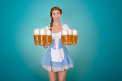 Bavaria munich party Royalty Free Stock Images