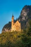 bavaria nedanför sikt för slottgermany neuschwanstein wide Royaltyfri Bild