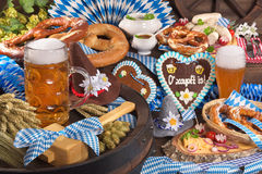 Bavaria and Oktoberfest Royalty Free Stock Photography