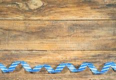 Free Bavaria Oktoberfest Background With Bavarian Blue And White Colors Border. Royalty Free Stock Image - 98239186