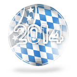 2014 Bavaria Oktoberfest. Creative Abstract image Design Royalty Free Illustration