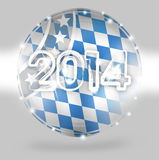 2014 Bavaria. Oktoberfest Creative Abstract image Design Royalty Free Illustration