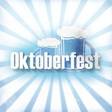 Bavaria Oktoberfest Design Royalty Free Stock Photos