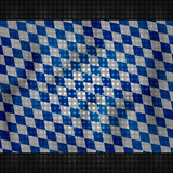 Bavaria Oktoberfest festival flag design Royalty Free Stock Photography