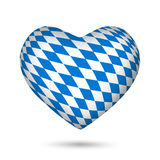 Bavaria Oktoberfest heart Stock Photography