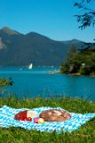 Bavaria picnic Royalty Free Stock Image
