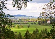 bavaria śródpolna Germany krajobrazowa góra Zdjęcia Royalty Free