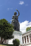 Bavaria statue at Theresenwiese in Munich, 2015 Royalty Free Stock Photo
