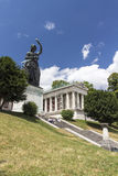 Bavaria statue at Theresenwiese in Munich, 2015 Royalty Free Stock Images