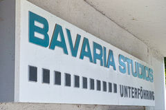 Bavaria Studios Unterföhring Stock Photography