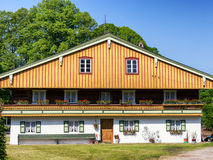 Bavaria. Typical old fashioned farmhouse in bavaria Royalty Free Stock Images