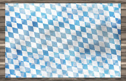 Bavaria Wood Oktoberfest Flag Design Background Stock Photo