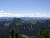 Bavarian alps Royalty Free Stock Photo