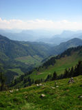 Bavarian Alps. This was taken during my holidays near Munich Stock Photos