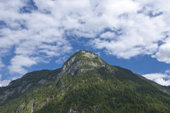 Bavarian Alps. One peak of the Bavarian Alps, Germany, Europe Stock Photography