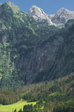 Bavarian Alps. The beautiful Bavarian Alps in Germany, Europe Stock Photo
