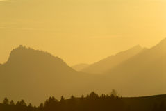 Bavarian Alps. Panorama Plansee Austria Springtime Stock Photography