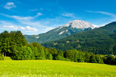 Bavarian Alps Royalty Free Stock Photography