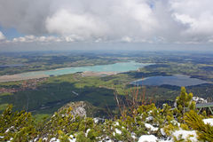 Bavarian Alps Royalty Free Stock Photo