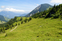 In the Bavarian Alps Royalty Free Stock Photos