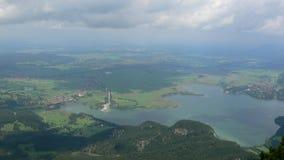 Bavarian Alps Royalty Free Stock Photography