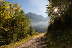 Bavarian Alps Royalty Free Stock Photos