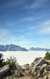 Bavarian Alps in the Eagle nest, Germany Stock Photo