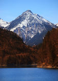Bavarian alps in Germany Stock Photos