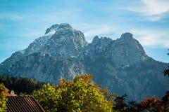 Bavarian Alps in Germany Stock Photography