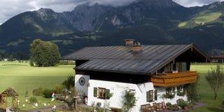 Bavarian Alps. Hike through the german alps Royalty Free Stock Image