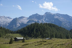 Bavarian Alps. Hiking through the Bavarian Alps of Southern Germany Royalty Free Stock Photos