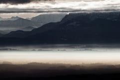 Bavarian Alps landscape Stock Image