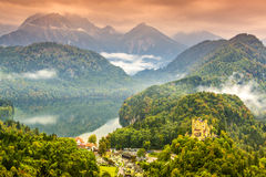 Bavarian Alps Stock Photography