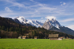 Bavarian Alps Royalty Free Stock Image
