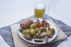 Bavarian  appetizer Stock Photography
