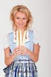 Bavarian asparagus Stock Image