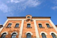 Bavarian bakestone facade Stock Photos