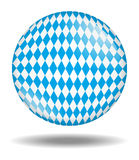 Bavarian ball isolated Stock Images