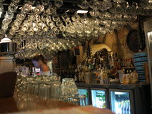 Bavarian bar interior Stock Photography