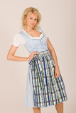 Bavarian beauty in costume Royalty Free Stock Image