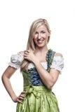Bavarian beauty Royalty Free Stock Image