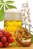 Bavarian beer Royalty Free Stock Photos