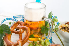 Bavarian beer Stock Photos
