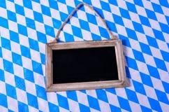 Bavarian Blackboard Stock Photography
